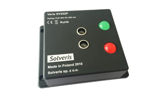 Varia SV202P - detektor ultrasoniczny, zasilanie PoE